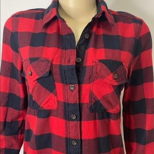 Roots Flannel Shirt size extra small